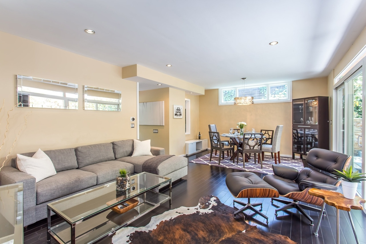 Image: Living room of our Bel Air, LA,vacation home.