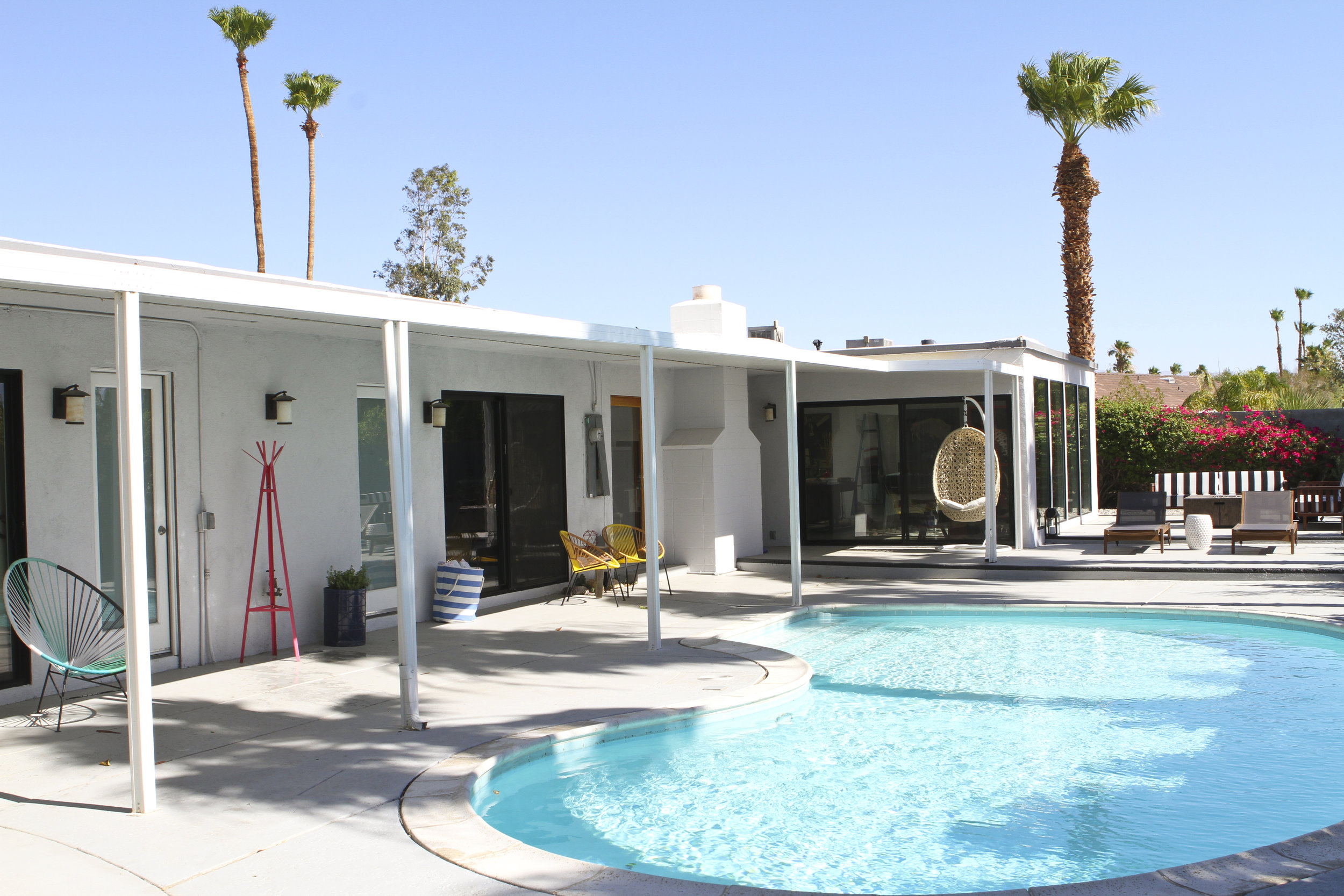 Photo of one of our properties in Palm Springs. Click HERE to book it!
