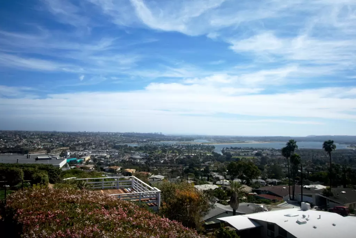 View of all San Diego from our Pacific Beach home. Click here if you're interested in this property!